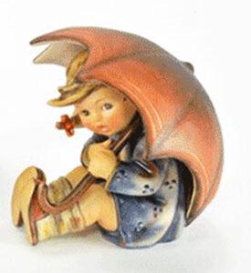Hummel figurine girl under an umbrella